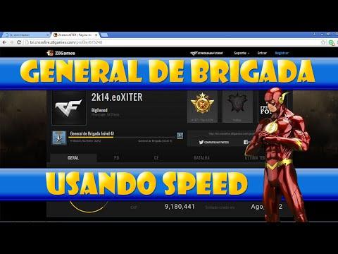 General de Brigada usando Speed - CrossFire AL