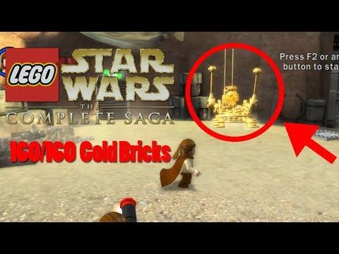 Lego Star Wars: The Complete Saga | 160/160 Gold Brick Award!