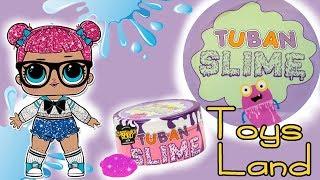 Tuban Slime ❤️ Ciasteczkowy slime LOL Surprise ❤️ DIY Toys Land
