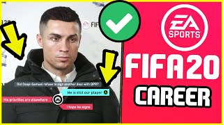 16 THINGS YOU SHOULD DO IN FIFA 20 CAREER MODE