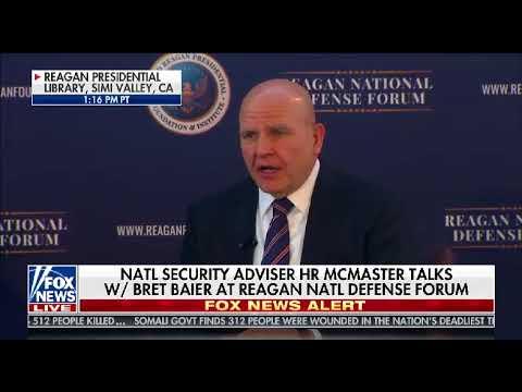 Bret interviews NSA H.R. McMaster