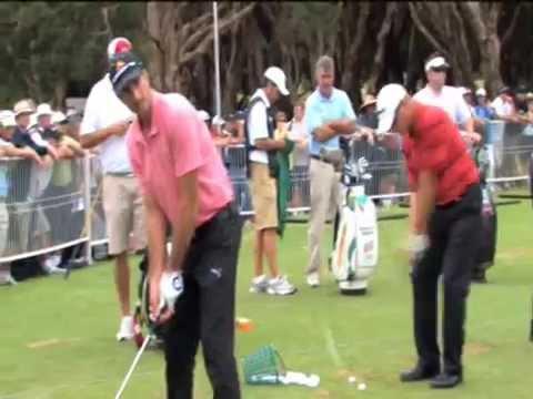 2008 Australian Open Golf won by Tim Clark  The Royal Sydney Golf Club