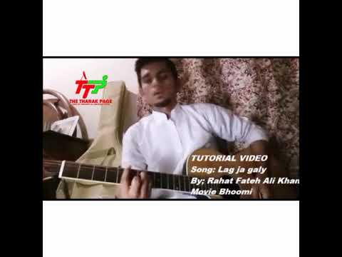 Lag Ja Gale By Bhoomi Easy Guitar Lesson Youtube