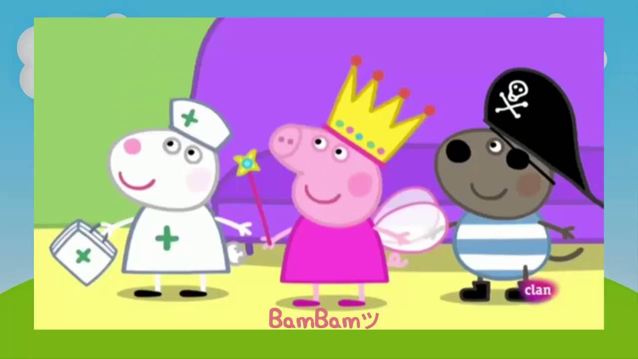 Peppa Pig en Español - La Fiesta de disfraces Dibujos Animados \'\'Bam ...