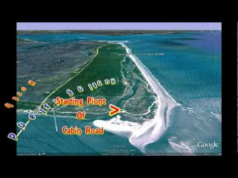 Hunting Island State Park Cabin Rd, South To North 2008 2010