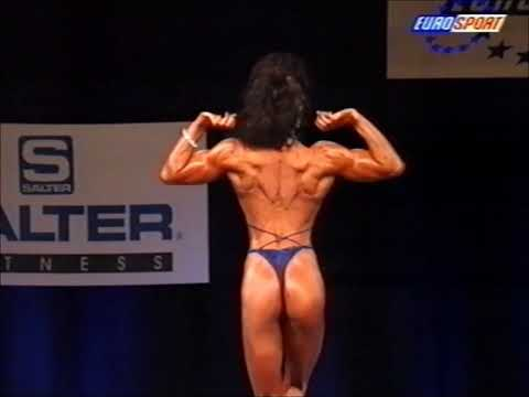Heike Neubauer (GER), 9th NABBA Miss World Grand Prix, June 1996 [EUROSPORT]