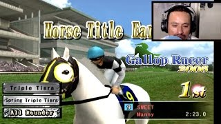 [PS2]How to earn more TITLES in Gallop Racer 2006
