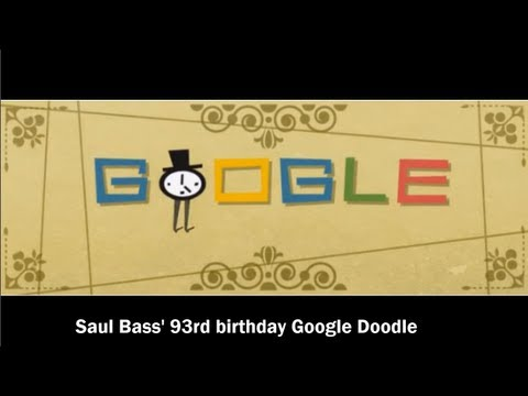 Saul Bass Google Doodle Video with music [HD]