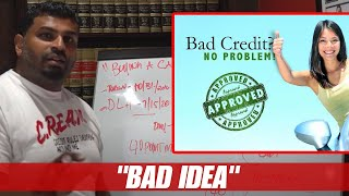 BUYING A CAR WITH BAD CREDIT?