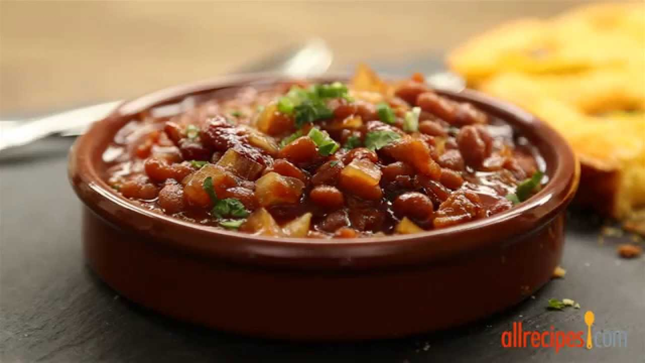 Slow Cooker Recipes - How to Make Baked Beans - YouTube