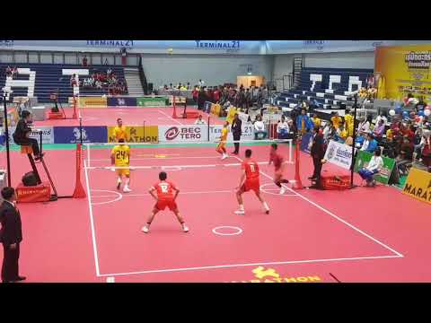 Philippines vs  Thailand - Sepak Takraw 33rd King's Cup (2018)