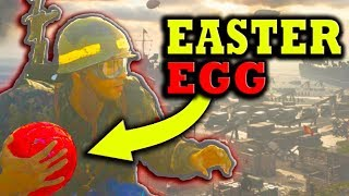 HOW TO GET ON TOP OF COD WWII'S HEADQUARTERS! (Also, How To Grab the Hidden Easter Eggs!)