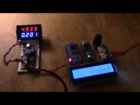 AD9850 signal generator – arrived, built, tested – Free