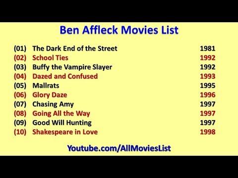 Ben Affleck Movies Lis...