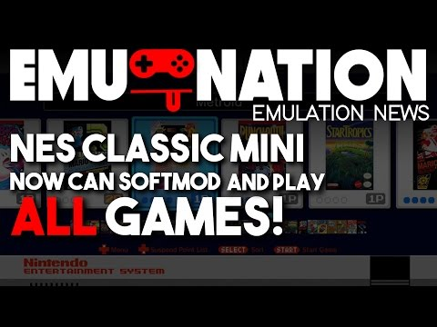 EMU-NATION: NES Classic Edition now Hacked plays ALL Games!