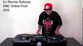 DJ Ritchie Ruftone DMC Online Final 2013 - take 2