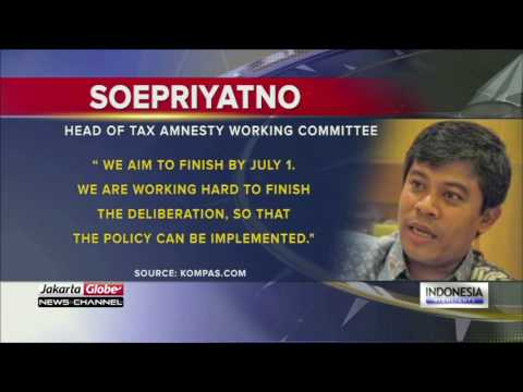 DPR Commission XI Assures Deliberations Over Tax Amnesty Bill Will Conclude In June