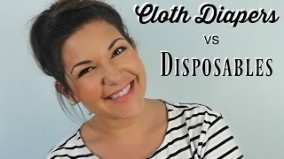 The TRUTH about Cloth Diapers vs Disposable Diapers! // Scigitte