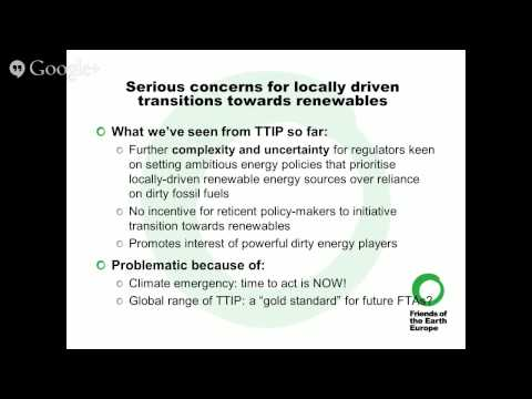 Energy Trade in the Transatlantic Trade and Investment Partnership (TTIP)