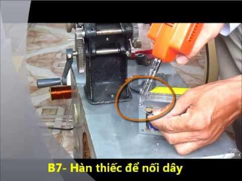 Kĩ thuật hàn nối dây máy biến áp