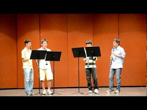 River Flows in You - Clarinet Quartet