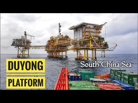 Duyong Offshore Platform Petronas Malaysia - Pengeboran Minyak Lepas Pantai