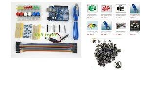 Ардуино Arduino для начинающих радиолюбителей распаковка(Посылочка из Китая. Ссылка на товар здесь: http://ali.pub/zd2rm - Arduino UNO http://ali.pub/oswxd - 100 шт. тактильные кнопки http://ali.pub/yd8..., 2016-03-13T12:59:06.000Z)