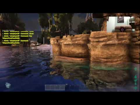 ark messing around with admin commands