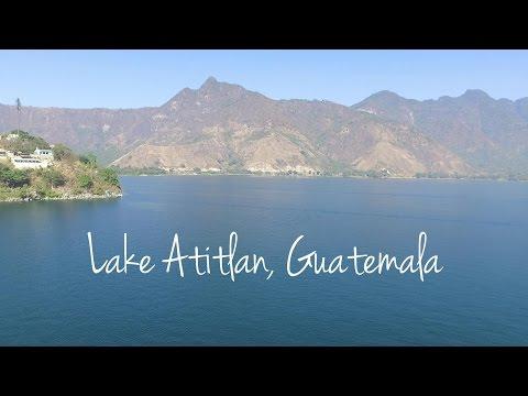 Lake Atitlán, Guatemala by drone