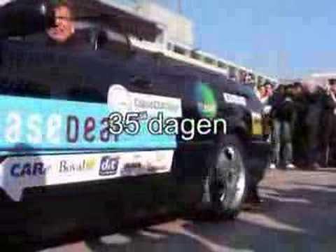 Departure of EurAsia Cabrio Challenge 2007 Team 307 CC