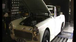 64 Austin Healey Sprite -  Stage 1.2 Dyno Session