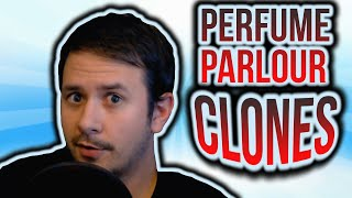 MORE FRAGRANCE CLONES! PERFUME PARLOUR CLONE HOUSE REVIEW | CREED AVENTUS