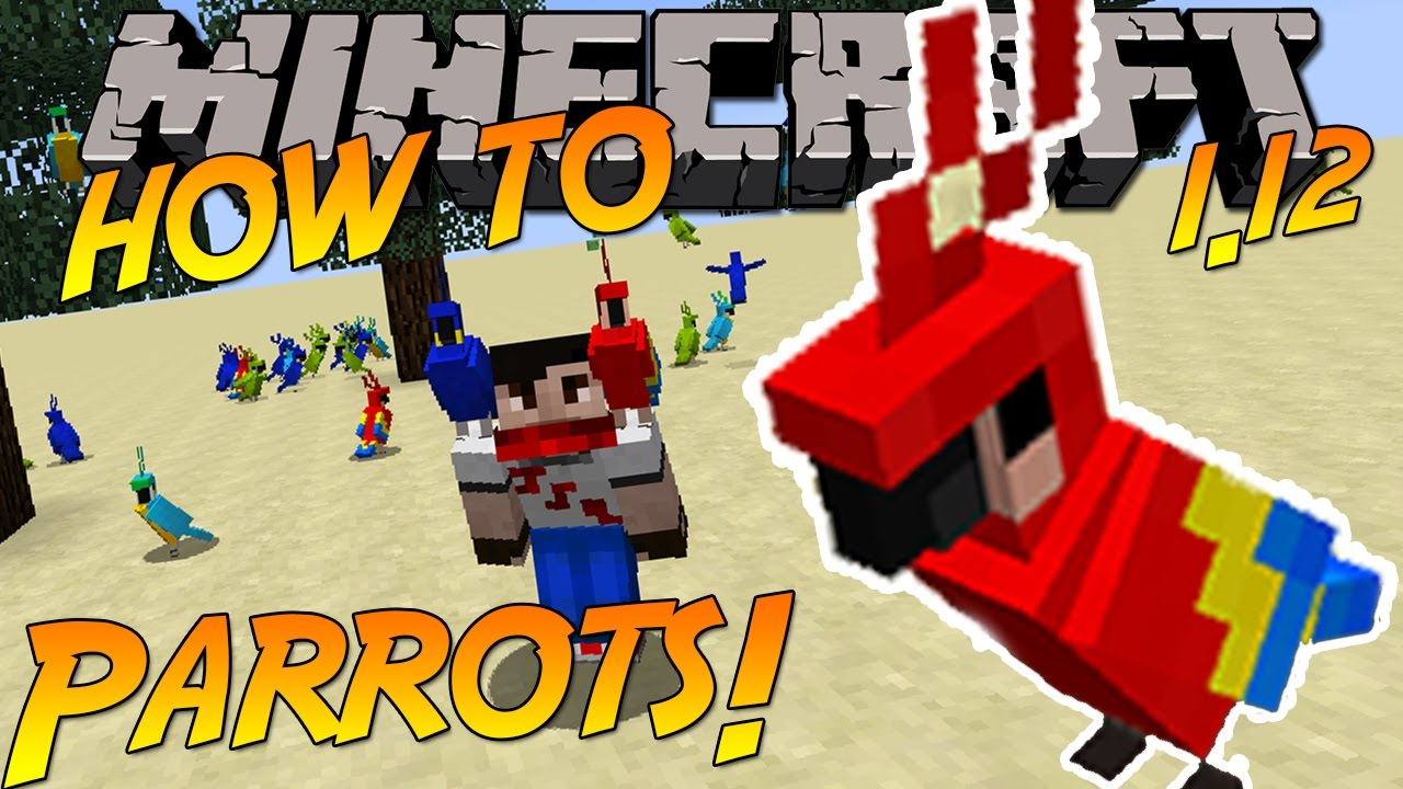 how do you tame a parrot in minecraft 1.12