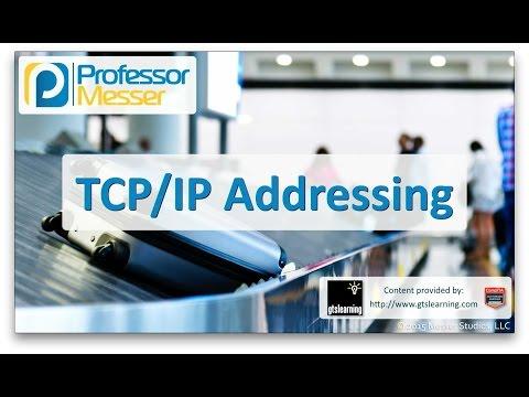 TCP/IP Addressing - CompTIA A+ 220-901 - 2.3