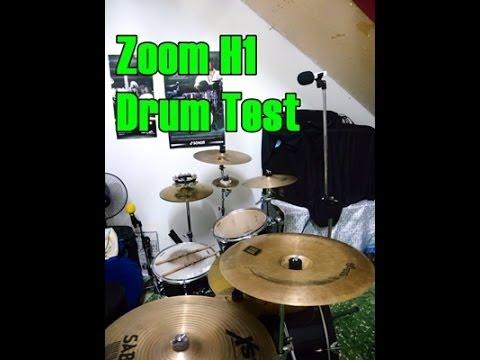 Zoom H1 Drum Test (MP3)