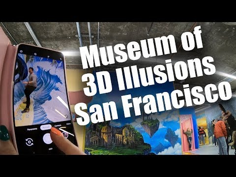 G BiZ - Museum Of 3D Illusion Opens In SF