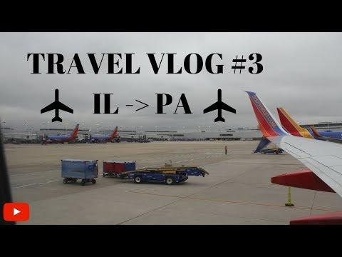 Traveling Back to Philadelphia!! | Airport Vlog #3