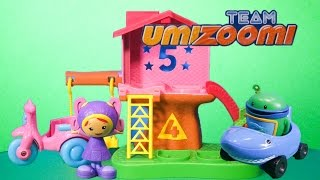 TEAM UMIZOOMI Nickelodeon Team Umizoomi Milli and Umiscooter a Umizoomi Video Toy Review