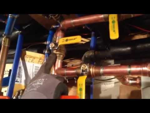 Installing a 3M Aquapure AP802 Water Filter as a Pre-Filter to an AP903 Filter