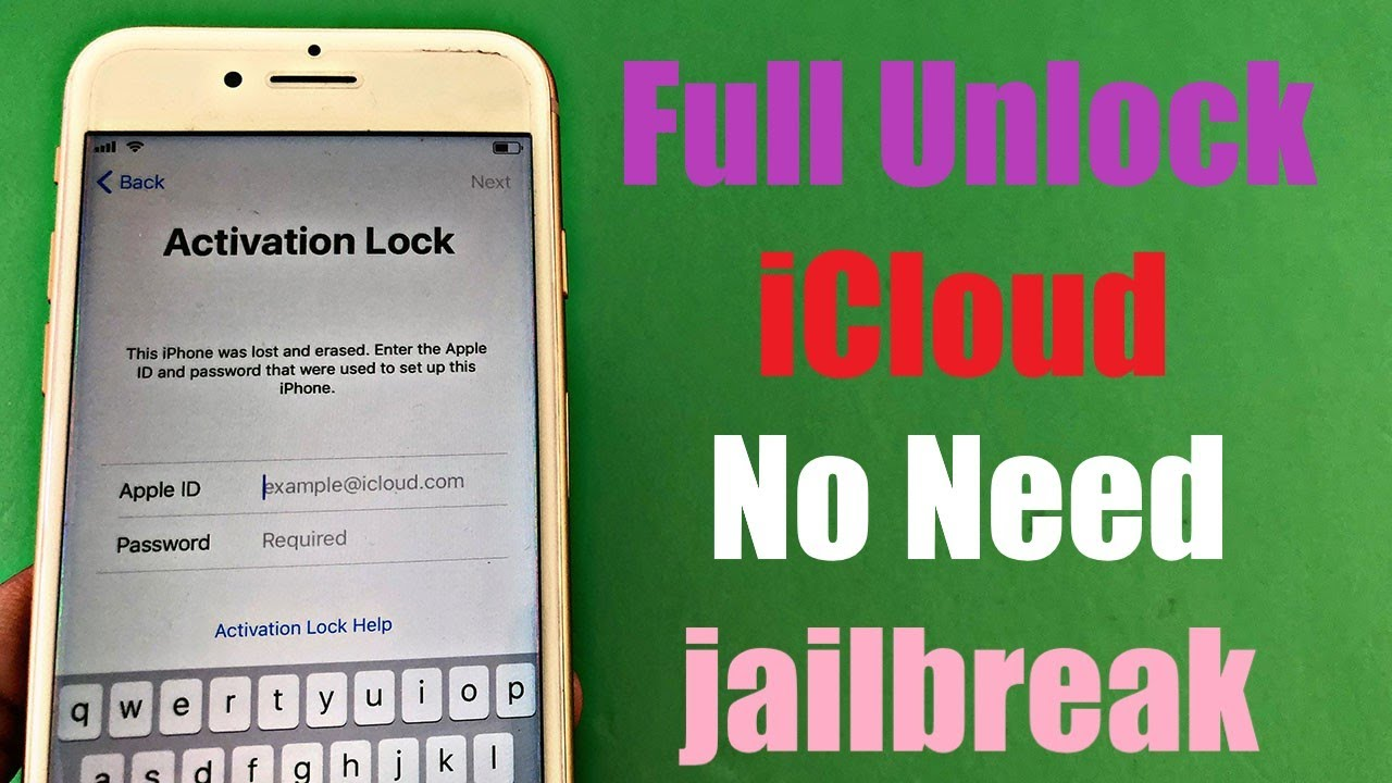 Full Bypass iCloud Activation | No Need Jailbreak
