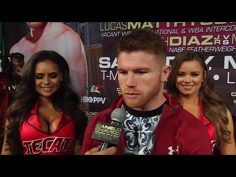 "CANELO EXPLAINS WHY THE FACE OFF ""MEANS NOTHING"" DETAILS WHY HE FEELS ITS INSIGNIFICANT?"