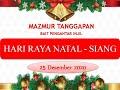 Mazmur Tanggapan HR Natal - Siang  Tahun B  Jumat, 25 Desember 2020