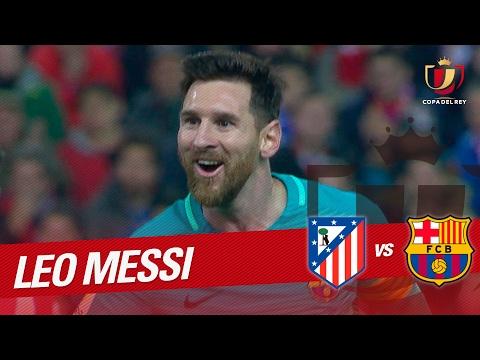Golazo de Messi (0-2) Atlético de Madrid vs FC Barcelona