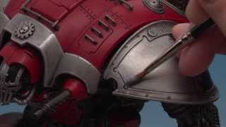 Imperial Knights painting and assembly (part 4 of 4): Applying transfers.