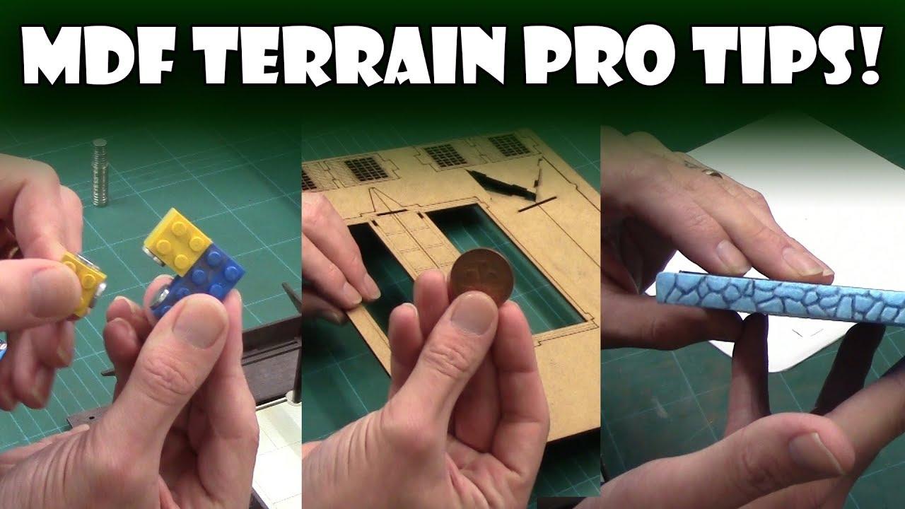 10 MDF Terrain Pro Tips!