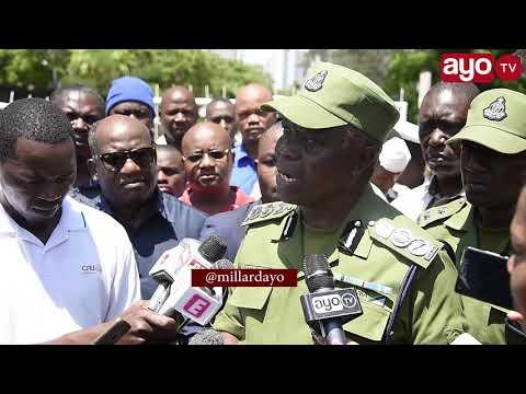 IGP SIRRO: 'Hii ni Tanzania, Mimi Sijui wanatumwa na nani''