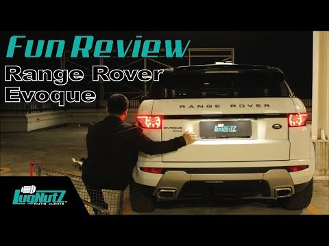 Range Rover Evoque FUN REVIEW - SUV Maju Mundur Cantique | LUGNUTZ Indonesia