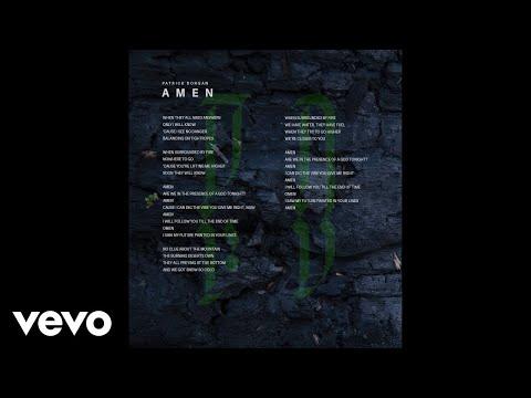 Patrick Dorgan - Amen (Lyric Video)