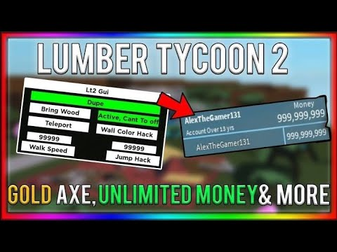 Lumber Tycoon 2 Op Money Dupe Script 2019 Not Patched Youtube