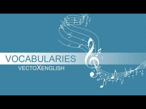 English Vocabularies - Musical Instruments
